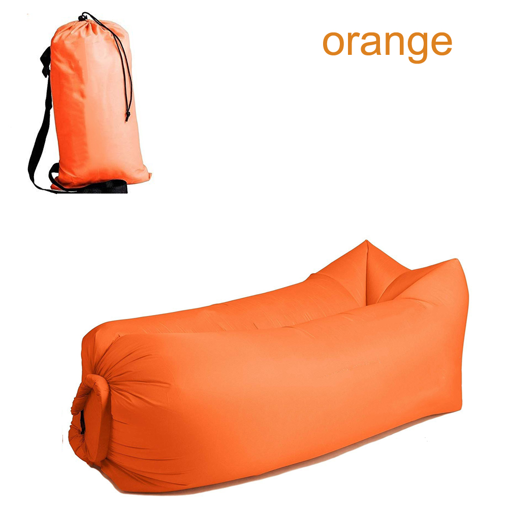 Camping Inflatable Sofa Lazy Bag 3 Season Ultralight Down Sleeping Bag Air Bed Inflatable Sofa Lounger Trending Products