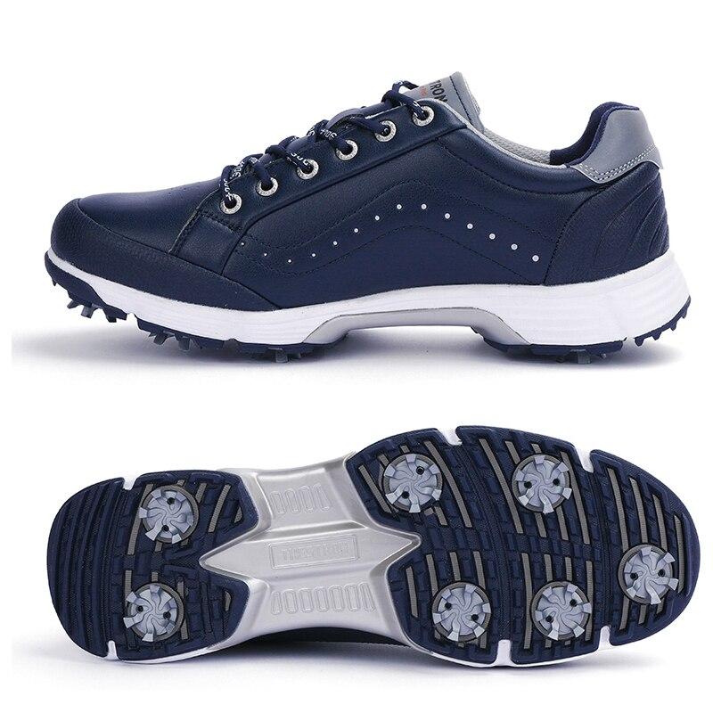 Professional Spikes Golf Shoes Men Waterproof Golf Sneakers Outdoor Jogging Walking Shoes Anti Slip Walking Footwears Male