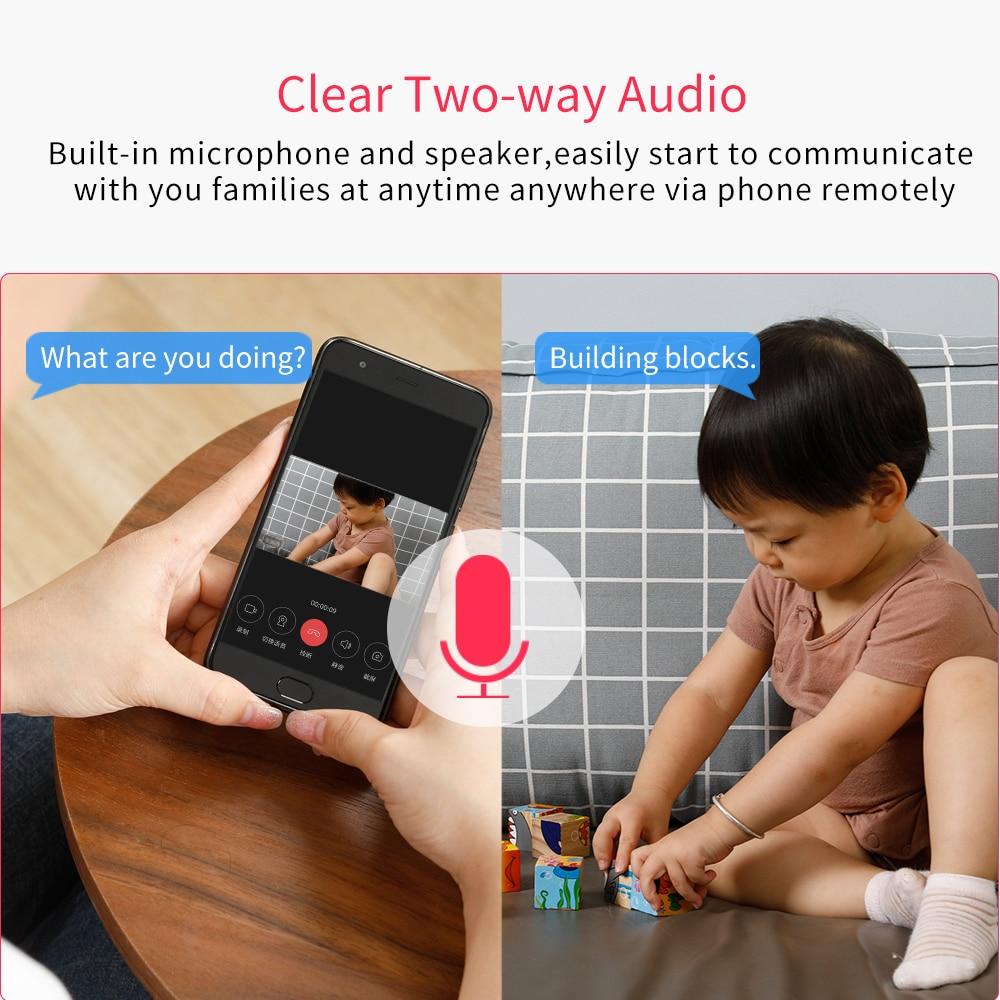 Xiaomi IMI Ip камера 360 угол 1080P WiFi CCTV Видеокамера Смарт обновленная Pan-tilt версия веб-камера ночное видение вид детский монитор