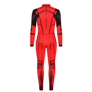 Image 5 - Superman Cosplay Costume Superhero Bodysuits For Adult Super Man Heros Costume Zentai Jumpsuits Back Zipper Halloween Party