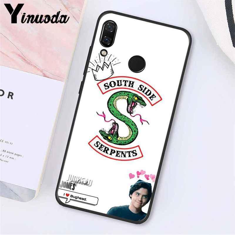 Yinuoda アメリカのテレビ Riverdale Jughead · ジョーンズ Woz 電話ケース xiaomi Redmi8 4X 6A S2 行く Redmi 5 5 プラス note8 Note5 7 Note8Pro
