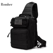Romher 2020 New Outlife Hotsale 800D Military Tactical Backpack Shoulder Camping Hiking Camouflage Bag Hunting Backpack Utility