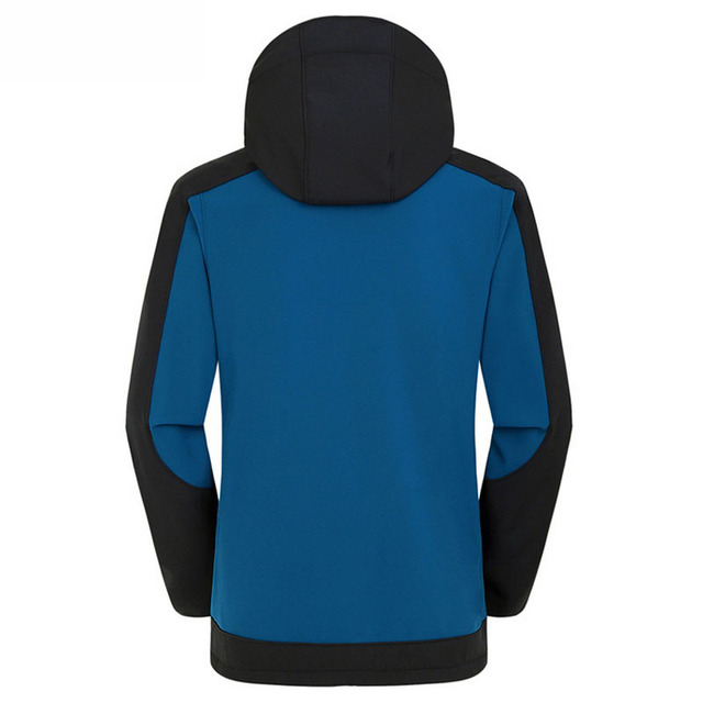 Softshell Windproof Waterproof Outdoor Jacket Men's