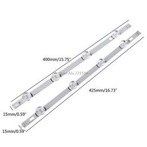 Image 5 - 8 светодиодный ных лент для подсветки 4 и 4 ламп 16 Вт для телевизора LG 42 фунта 6916L 1709B 1710B, оптовая продажа и Прямая поставка