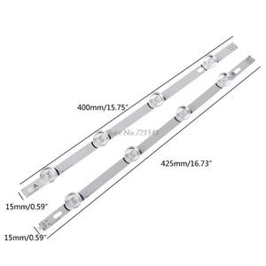 Image 5 - 8Pcs Led hintergrundbeleuchtung streifen 4 und 4 Lampe 16W Für LG 42LB Zoll TV 6916L 1709B 1710B Whosale & Dropship
