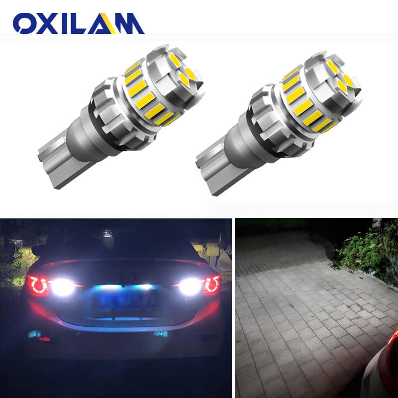 2Pcs Canbus W16W LED רכב הפוך אורות למאזדה 6 323 2 3 5 CX-5 CX-7 CX-9 CX 7 axela MPV נבאחו Protege 1156 ba15s 7440 W21W