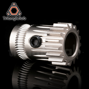 Image 4 - trianglelab Drivegear kit dual drive gear extruder kit Mini Bowden Extruder Cloned Btech upgrade for Prusa i3 3d printer gear