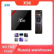X96 Android 7.1 Smart TV Box WiFi S905W Quad Core Set Top Box 4K Media Player X 96 X96W Set top Box