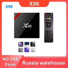X96 Android 7.1 Smart TV Box WiFi S905W Quad Core décodeur 4K lecteur multimédia X 96 X96W décodeur