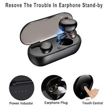 Y30 Bluetooth Draadloze Oortelefoon 5.0 Sport Bluetooth Headset Oordopjes Handenvrij Draagbare Met Opladen Doos 3D Stereo Geluid