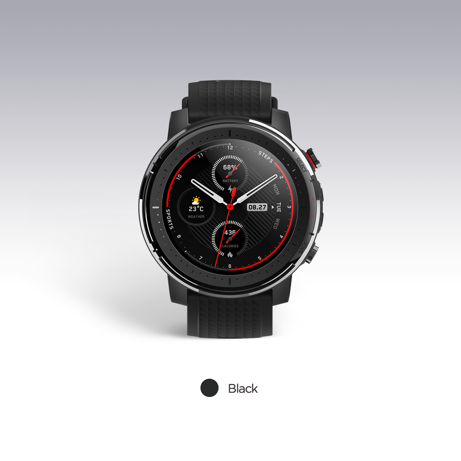 Top SaleAmazfit GPS Smartwatch 14-Days-Battery Music Bluetooth Android 5ATM Heart-Rate for 3