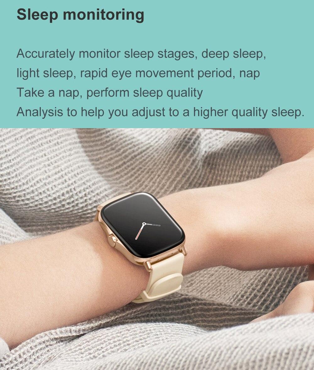Hfb195945aed14e47825fd2cf310e5109w For Xiaomi Apple Phone IOS Reloj Inteligente Hombre Smartwatch 2021 Men Bluetooth Call Smart Watch Man Woman Full Touch IP68