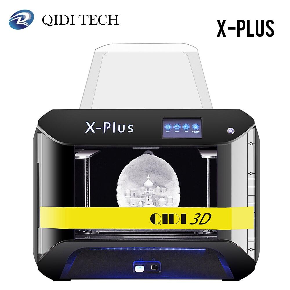 Qidi Tech 3d принтер X-Plus большого размера промышленный класс WiFi функция Impresora 3D высокая точность печати 270*200*200 мм 3D Drucker
