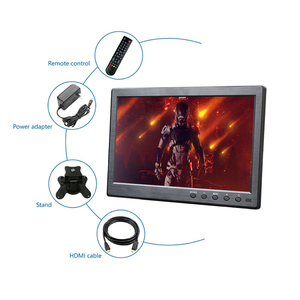 Image 4 - 10.1 inch 1366x768 Portable Monitor with VGA HDMI BNC USB input for PS3/PS4 XBOX360 Raspberry Pi Windows 7 8 10 System