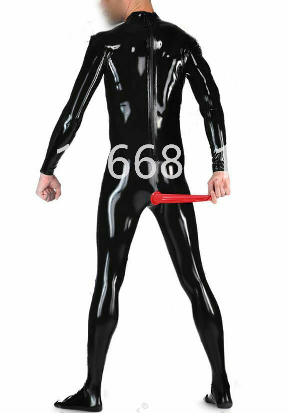 668 Latex Rubber Gummi Male Vests Top Pants Trousers Jeans customized 0.4mm suit