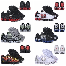 2020 New Men Shox TL Sunrise Mens Running Shoes Basketball Athletic Sports Shoes NZ R4 Mens Air Cushion Sneakers Max Size 40-46