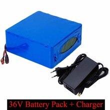 Литиевая батарея LiitoKala, 36 В, 30 Ач, 36 В, 30000 мА · ч, 18650 Аккумулятор для электрического велосипеда с зарядным устройством 30 А BMS + 42 в, 2 А