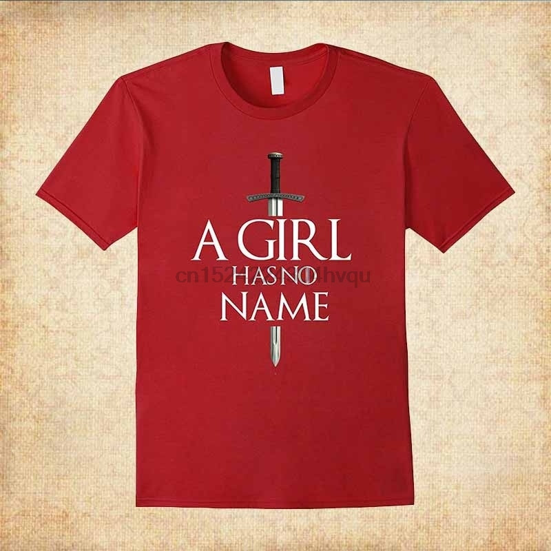 100% Cotton A Girl Has No Name Halloween T-Shirt Simple Style women tshirt