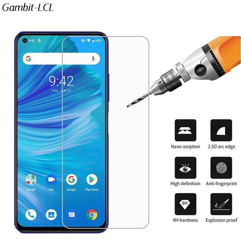 2PCS Tempered Glass For UMIDIGI Power 3  POWER3 Screen Protector 9H On UMIDIGI F2 Glass Film Protective Phone Cover