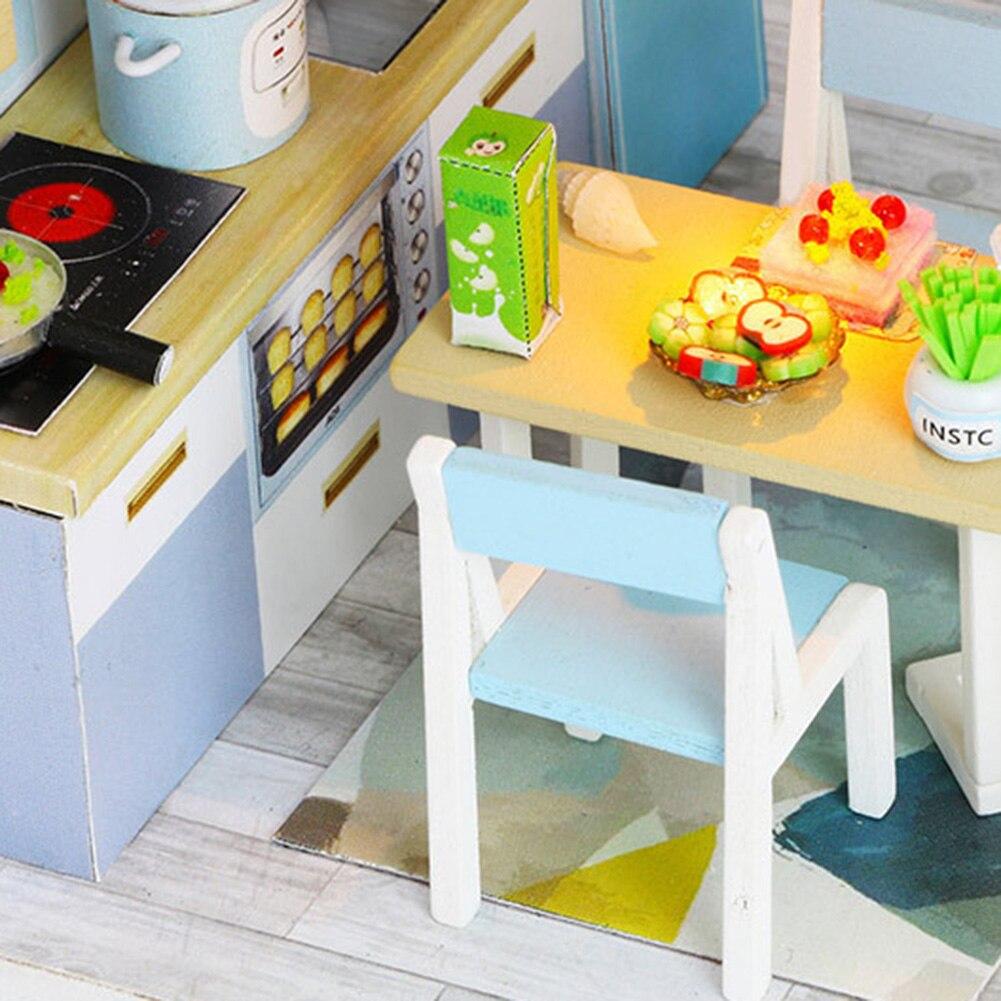 Hfb1a27b1b86e4dae98bc15c55916b264P - Robotime - DIY Models, DIY Miniature Houses, 3d Wooden Puzzle