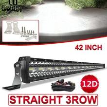 CO LIGHT 12D 780W 42 inch LED Light Bar 3-Rows LED Bar Car Combo Beam for Driving SUV 4X4 ATV 4WD Offroad LED Work Light 12V 24V