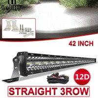CO LIGHT 12D 780W 42 inch LED Light Bar 3 Rows LED Bar Car Combo Beam for Driving SUV 4X4 ATV 4WD Offroad LED Work Light 12V 24V