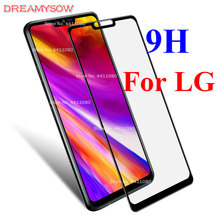 Full Cover Tempered Glass For LG Q7 G7 G6 Q6 K10 K8 2017/6 Stylo 3 K7 V50 Fortune Plus 9H Explosion Proof Screen Protector Film-in Phone Screen Protectors from Cellphones & Telecommunications on AliExpress