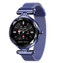 Роскошные Модные Смарт часы фитнес браслет женский с измерением