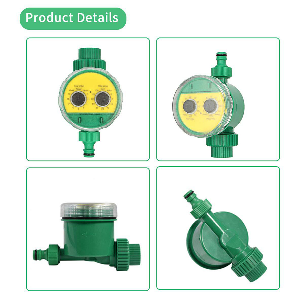 Automatic Irrigation Controller Home Ball Valve Garden Watering timer  11