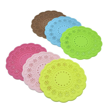 Silicone Lace Placemat Flower Coaster Cushion Mug Holder Tea Cup Pad Mat More Colrs [4] image