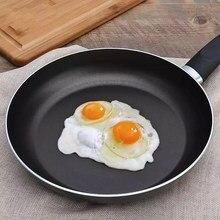Frigideira durável não-vara frigideira mini bife grosso plana cozinhar pan ferro panqueca ovo fritadeira cozinha panelas ferramentas de ferro fundido