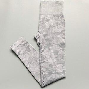 Image 3 - Nepoagym נשים חדש צבעים Camo יוגה מכנסיים נשים גוץ הוכחת חלקה חותלות רך יוגה חותלות דחיסת מכנסיים נשים
