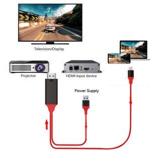 Image 3 - Hd Type C USB C Telefoon Naar Tv Hdtv Projector Video Adapter Hdmi Kabel Voor Samsung Galaxy S8 S9 S10 Note 8 Note9 Note10 Lg Macbook
