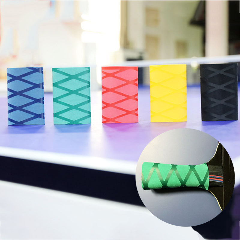 Overgrip Sweatband For Table Tennis Racket Handle Tape Heat-shrinkable Ping Pong Set Grips Sweatband Table Tennis Accessories