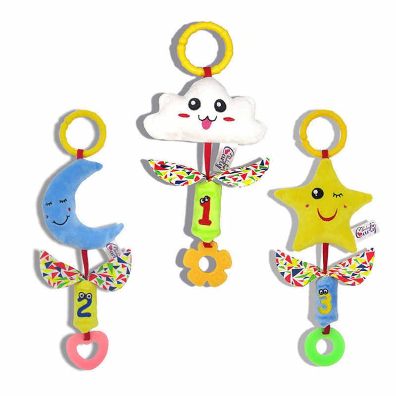 Cuna suave cama cochecito juguete espiral bebé juguete para recién nacidos asiento de coche sonajeros educativos Toalla de bebé juguetes de bebé 0-12 meses