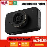 Xiaomi Mijia voiture intelligente DVR caméra WIFI 1080P HD Vision nocturne tableau de bord caméra commande vocale enregistreur vidéo de conduite 140 degrés grand Angle
