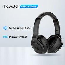 Mobvoi ANC-auriculares con micrófono Dual, auriculares plegables con cancelación de ruido, Bluetooth 5,1, 30 horas de batería