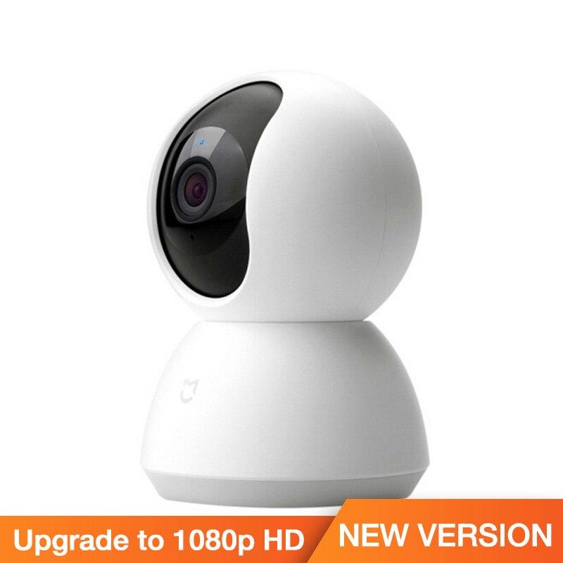 2018 Original Xiaomi Mijia Smart Kamera 1080P HD Nachtsicht AI Verbesserte Bewegungserkennung Invertiert Installation Xiomi Kamera