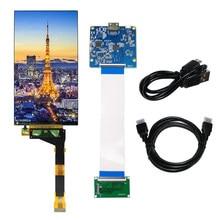 Latumab – écran LCD 2K de 5.5 pouces avec rétro-éclairage, pour Sharp 3D, Compatible avec HDMI, MIPI, carte d'imprimante, 1440x2560