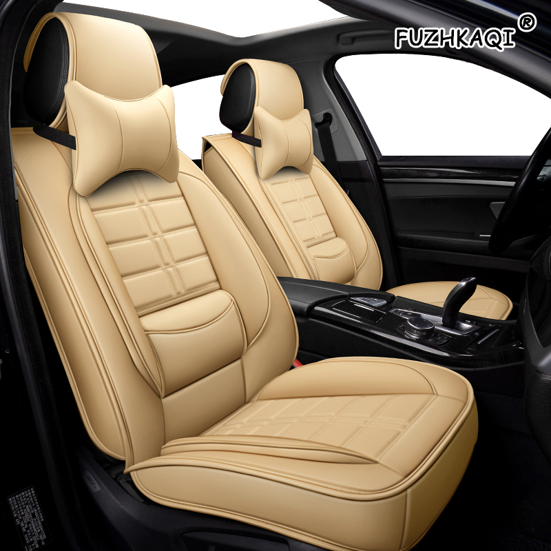 Auto Pu Leather Car Seat Cover For Ford Mondeo Mk4 Mk3 Opel Zafira Ford Explorer Hyundai Ioniq Toyota Prado 120 Car Seat Cushion