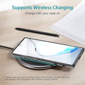 Image 4 - ESR Metall Ständer Fall für Samsung Galaxy Note 10 S10 e Plus Abdeckung Stoßfest TPU Business Telefon Fall für Samsung note10 + 5G