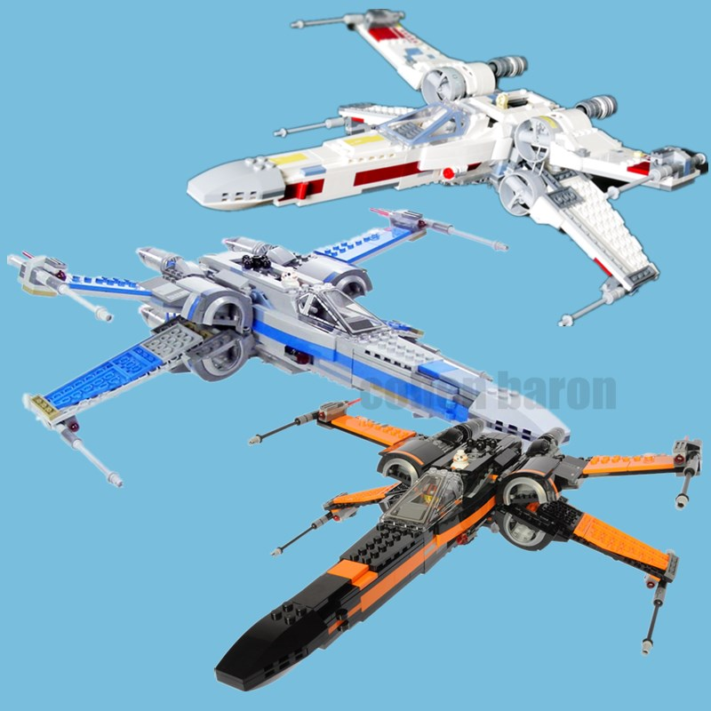 New Star Series The First Order X Wing Fighter Fit Legoings Star Wars Figures 75218 Model Building Blocks Bricks Toys Kid Gift