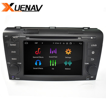 car radio 2DIN Android Car radio DVD player FOR MAZDA 3 2004 2005 2006 2007 2008 2009 stereo autoradio head unit car GPS nav image