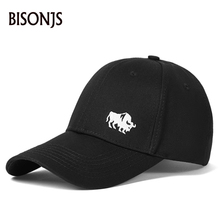 BISONJS 2020 New Baseball Cap For Men Caps Street Style Women Hat Snapback Embroidery Casual Casquette Dad Hip Hop Cotton Hats