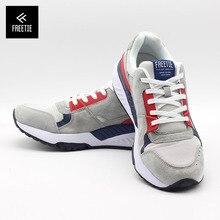 Youpin FREETIE 90 الرجال الرجعية أحذية رياضية حذاء كاجوال تنفس شبكة مقاومة للاهتراء صدمة مرونة الأحذية المطاط تسولي
