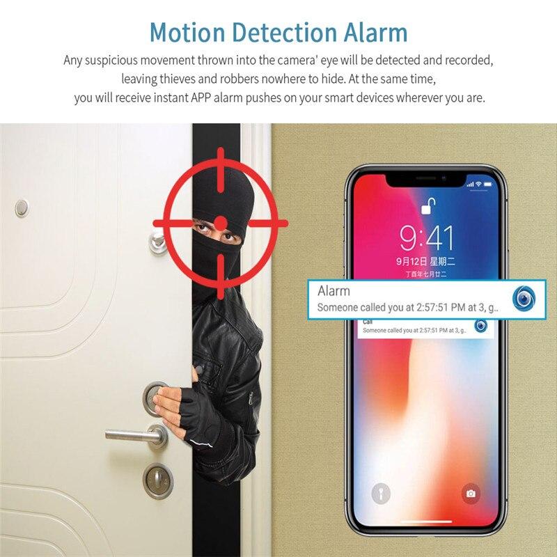 INQMEGA Tuya 1080P Home Security ip wifi Kamera CCTV Kamera Wireless Wifi Netzwerk Überwachung Kamera Baby Monitor
