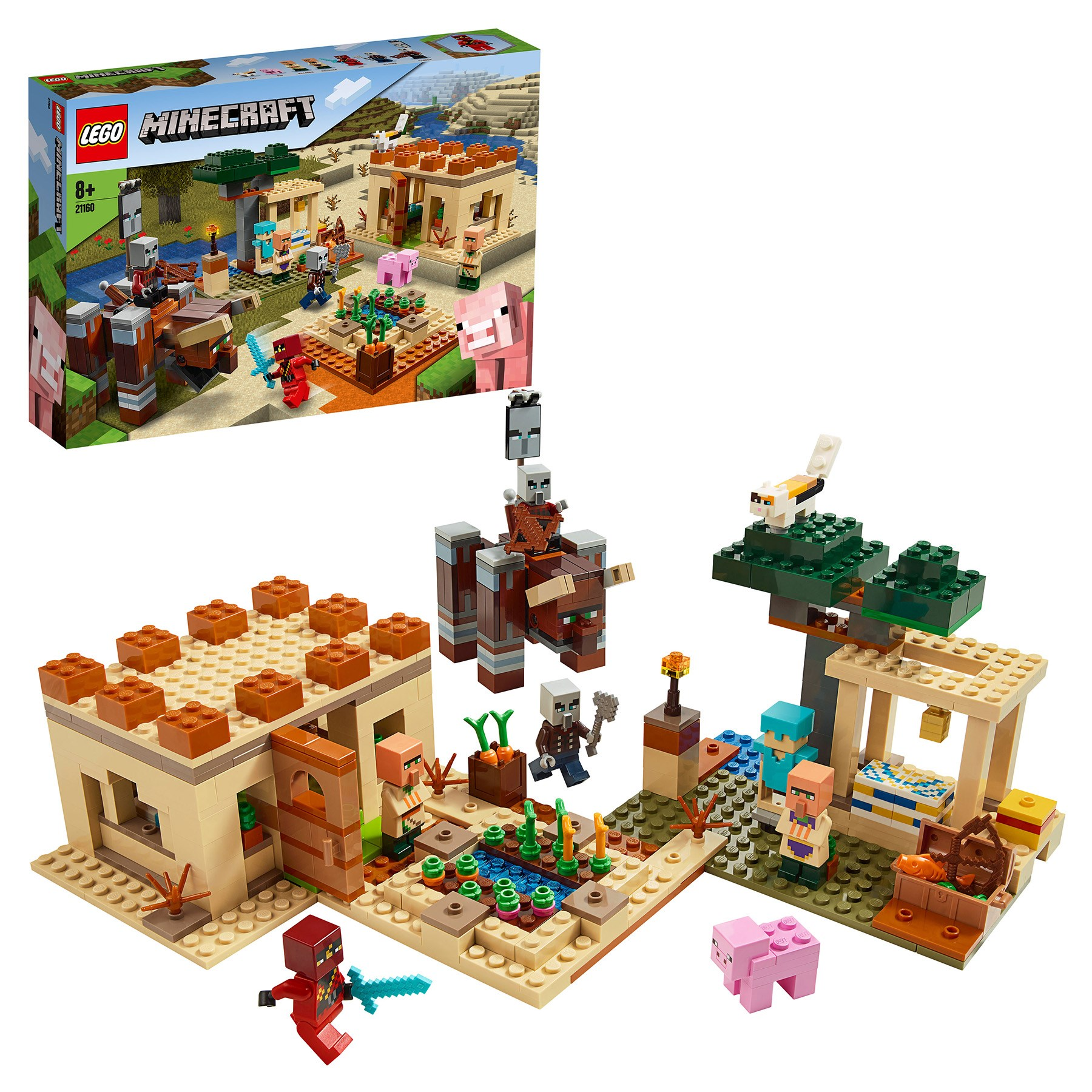 Designer Lego Minecraft 21160 Patrol Robbers
