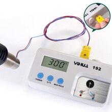 купить YIHUA 192 LCD de temperatura Digital Sensor de instrumento IronThermometer Testador De Solda Pistola de Ar Quente Celsius Fahren по цене 2347.33 рублей