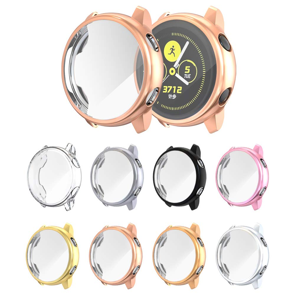 Full Protective Case For Samsung Galaxy Active 2 Watch 40mm 44mm TPU Silicone Screen Protection Cover For Galaxy Active2 Bumper