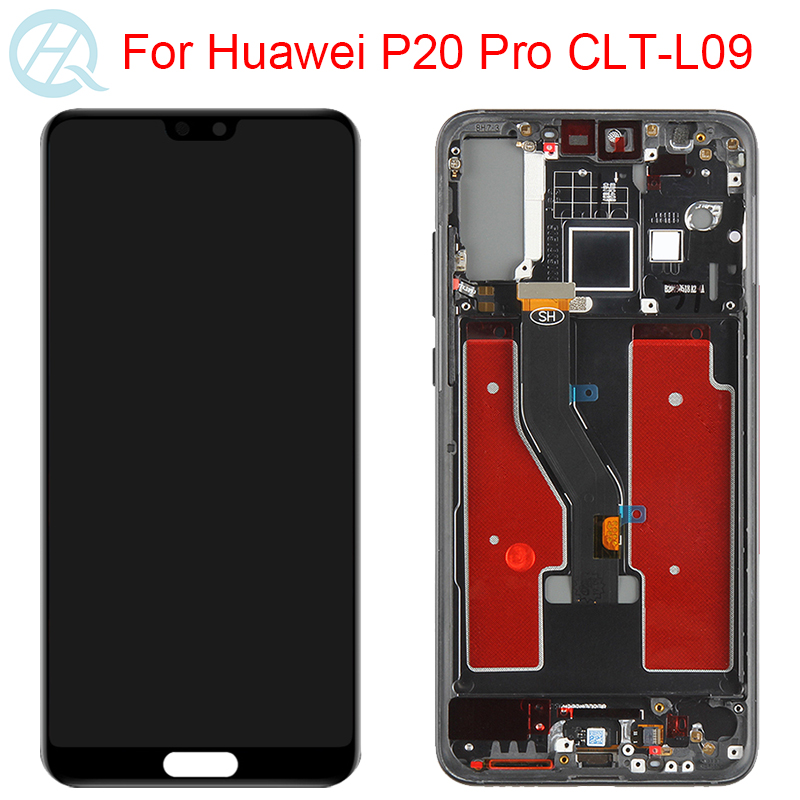 TFT Display For Huawei P20 Pro LCD With Frame Touch Screen Assembly 5.9